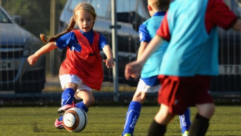 Girls Mini Soccer